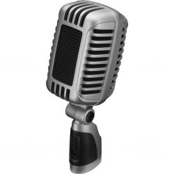 IMG-Stage Line DM-101 Nostalgic dynamic microphone For stage, speech, and vocals