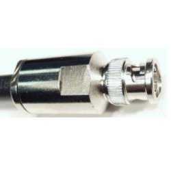 BNC connector Male voor Aircell-7 (10 pieces)