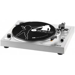Stereo hi-fi turntable with USB port and integrated phono preamplifier DJP-104USB
