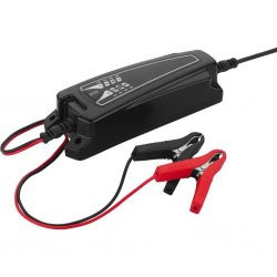 Charger for rech. lead batteries, 6 V, 12 V, 4 A max